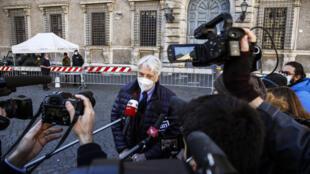 ITALIAN JOURNALIST CORRADO AUGIAS LEGION OF HONOUR