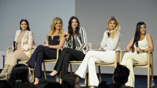 Les sœurs Kardashian-Jenner.
