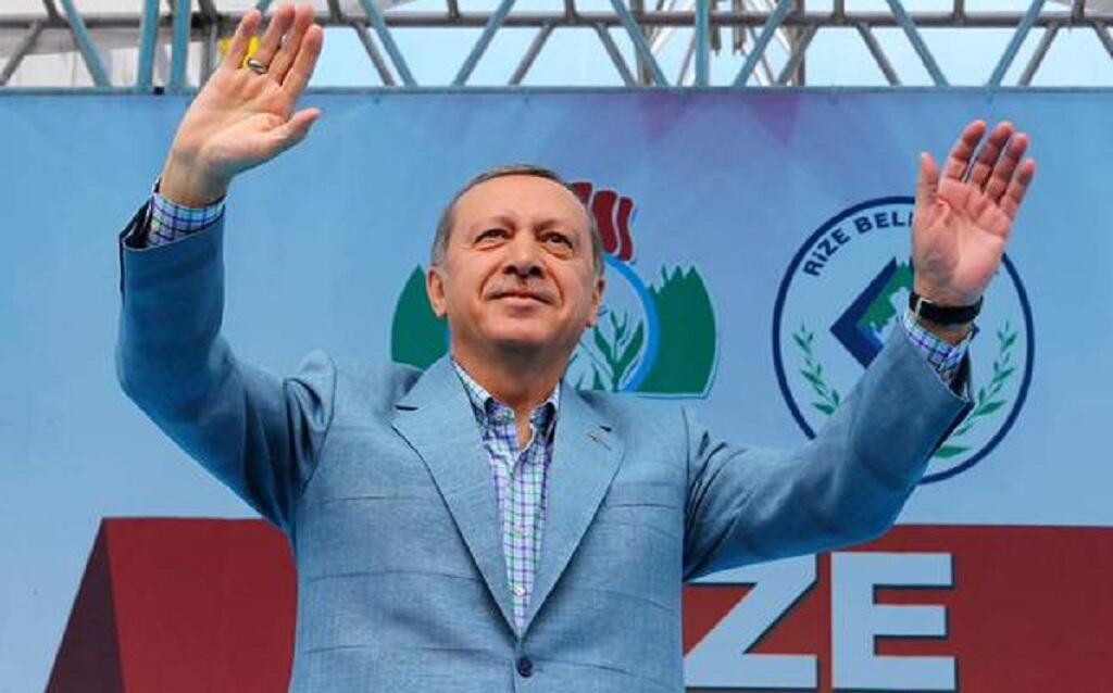 الحساب الرسمي للرئيس التركي رجب طيب أردوغان @RT_Erdogan