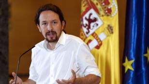 Le leader de Podemos, Pablo Iglesias, le 6juin2019, à Madrid.