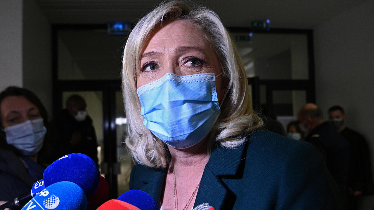 French far-right leader Marine Le Pen in court over IS group tweets