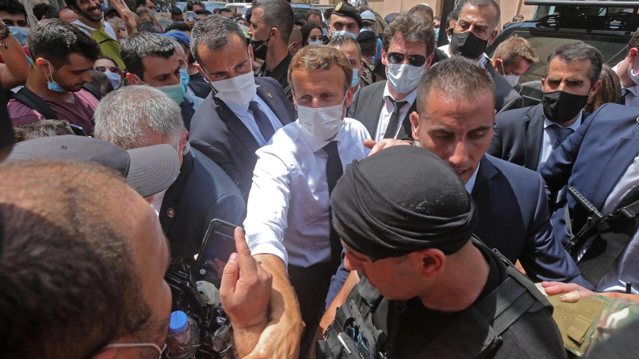 مؤتمر صحفي للرئيس الفرنسي الأحد عن الوضع السياسي في لبنان
