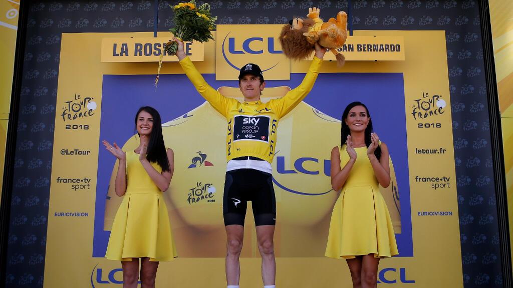 El ciclista galés Geraint Thomas sorprendió con el sprint final al español Mikel Nieve y se alzó con la etapa 11 del Tour de Francia.