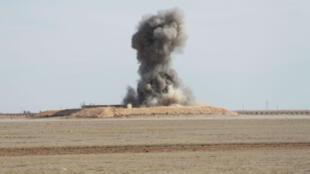 Un essai nucléaire américain dans le désert du Texas