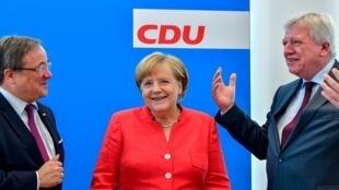 La chancelière allemande Angela Merkel le 18 juin, 2018.