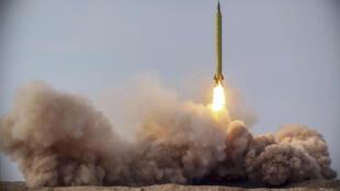 IRAN NUCLEAR ROCKET TRAINING DRILL