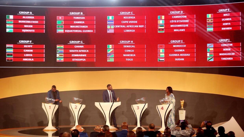 قرعة تصفيات أفريقيا لكأس العالم 2022 مجموعات سهلة للجزائر والمغرب