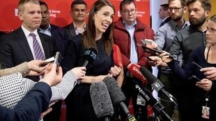 Prime Minister Jacinda Ardern's Labour Party is enjoying a strong lead in opinion polls ahead of the general election