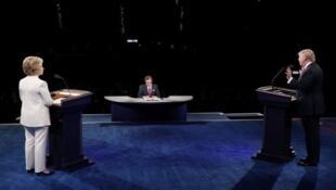 المرشحان للانتخابات الرئاسية الأمريكية هيلاري كلينتون ودونالد ترامب