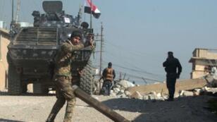 قوات الجيش العراقي في الموصل، فبراير/شباط 2017