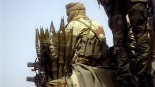 Chadian forces, similar to the soldier pictured in 2013, have monitored rebel movements for weeks before targeting a site between Miski and Ybibou for bombardment