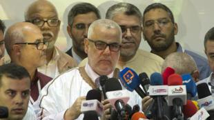 عبد الإله بنكيران رئيس الحكومة المغربية وأمين عام حزب العدالة والتنمية الإسلامي