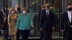 Angela Merkel à Bruxelles