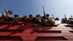 مقاتلون من إقليم أمهرة المتحالف مع الحكومة الاتحادية