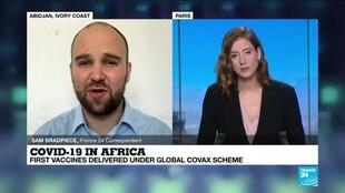 2021-02-25 14:08 Vaccine rollout in Africa: Ivory Coast to receive doses from COVAX scheme