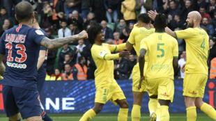 Le FC Nantes a livré une prestation aboutie pour retarder le sacre du PSG.