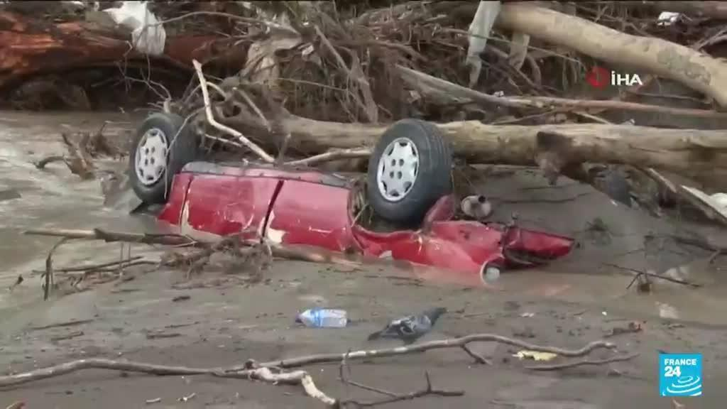 2021-08-13 18:06 Inondations en Turquie : au moins 31 morts, le président Erdogan est à Kastamonu