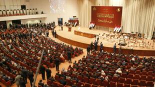 Les députés irakiens réunis à Bagdad, au début du mois de septembre 2018.
