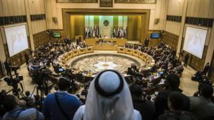 La réunion de la Ligue arabe s'est tenue dimanche 10 janvier au Caire.