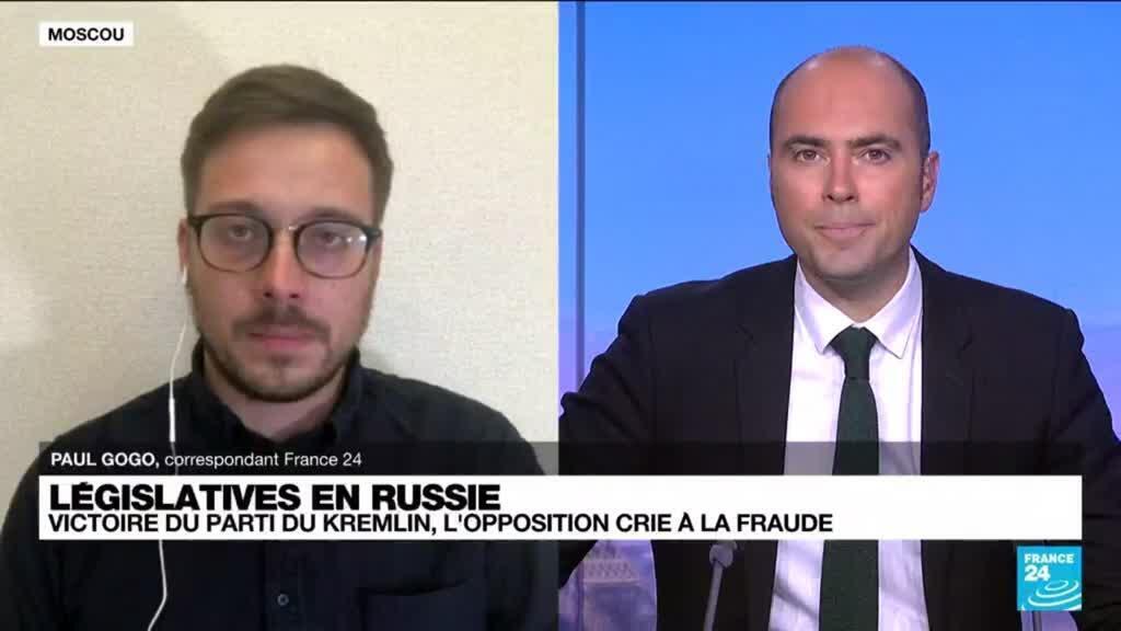 2021-09-20 14:31 Législatives russes: victoire du parti du Kremlin, l'opposition crie à la fraude