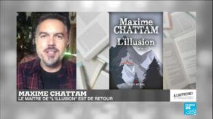 L'écrivain Maxime Chattam