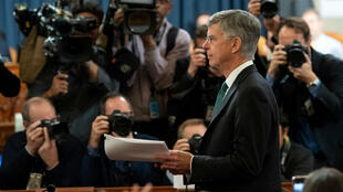 William Taylor, chargé des affaires américaines en Ukraine, est l'un des témoins clefs dans la procédure de mise en accusation de Donald Trump