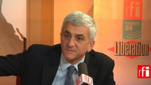Hervé Morin, président du Nouveau Centre