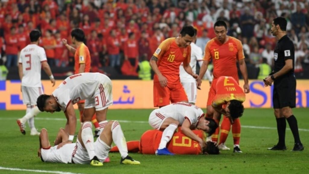 Image result for iran china 3-0 asian cup