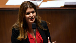 Marlène Schiappa, le 6 novembre 2018, à l'Assemblée nationale.