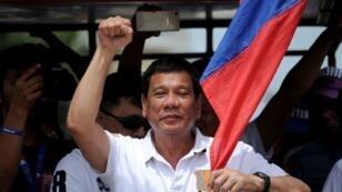 الرئيس الفليبيني رودريغو دوتيرتي