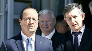 François Hollande et Jean-Pierre Jouyet.