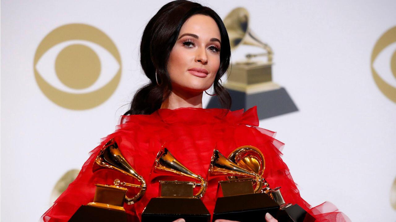 Kacey Musgraves reinó en la 61 edición de los Grammy con cuatro premios, incluido mejor álbum del año ('Golden Hour').