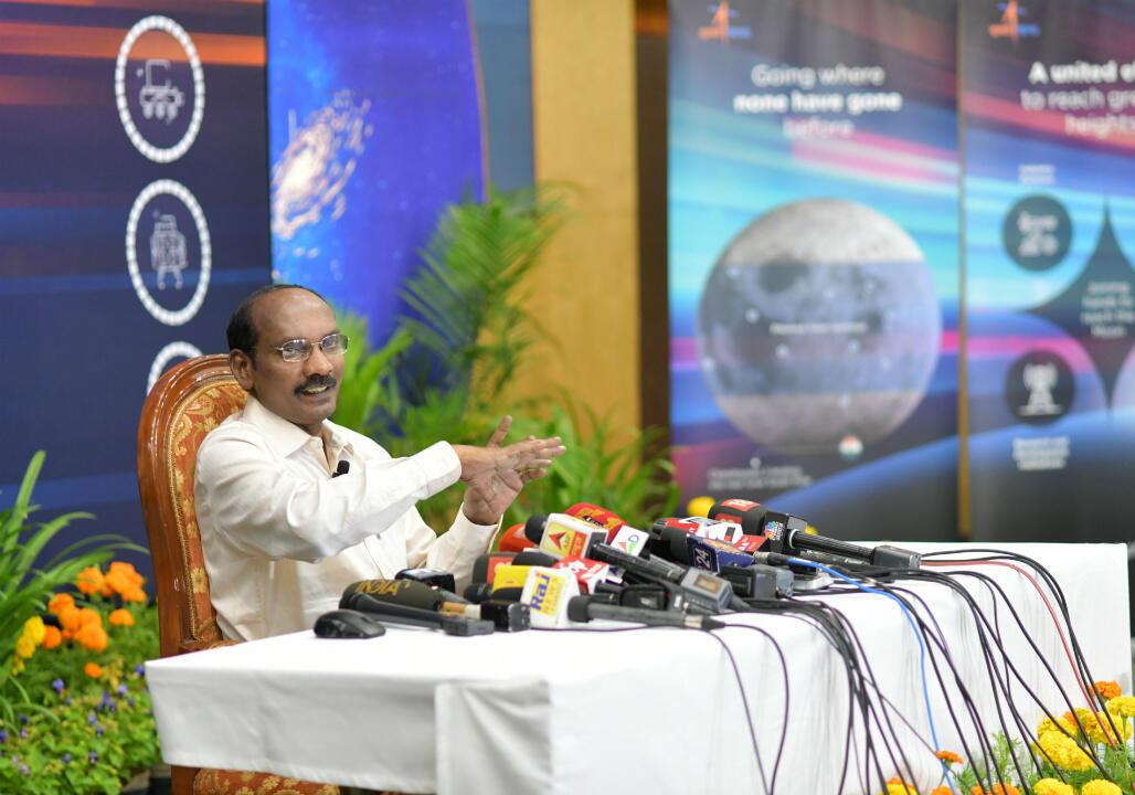 Le Dr. Sivan lors de la conférence de presse du 12 juin 2019.