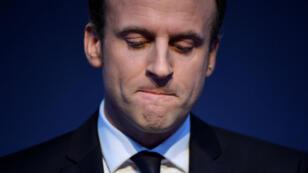 Emmanuel Macron, le 2 mars 2017, à Paris.