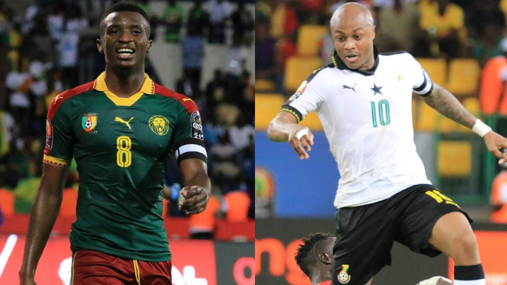 Le Cameroun et le Ghana s'affrontent en demi-finale de la CAN-2017, jeudi 2 février 2017 à 20 h.