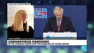 2020-10-06 13:35 Covid-19 pandemic : Boris Johnson under fire for handling of crisis