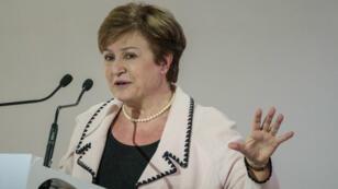 كريستالينا جورجييفا مرشحة الاتحاد الأوروربي لمنصب مديرة صندوق النقد الدولي.