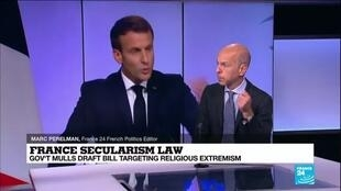 2020-12-09 11:03 France secularism law: Govt mulls draft bill targeting religious extremism
