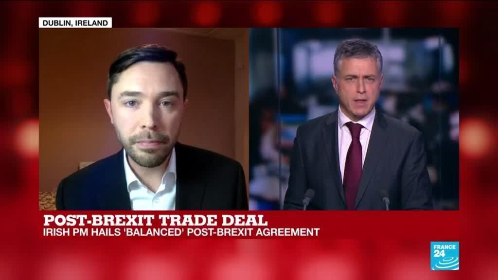 2020-12-24 17:18 Post-Brexit trade deal: Irish PM hails 'balanced' post-Brexit agreement