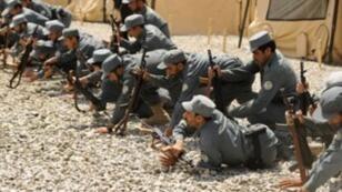 عناصر من القوات الأفغانية