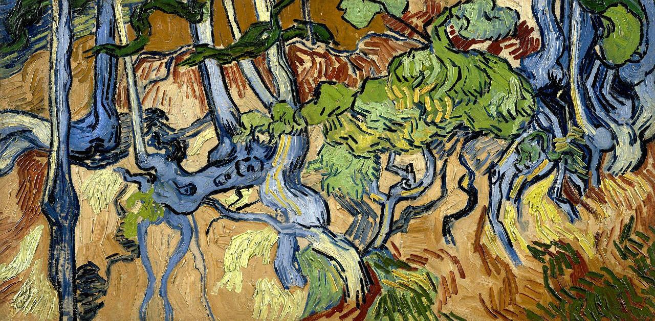 """Vincent van Gogh, """"Racines"""", 1890."""
