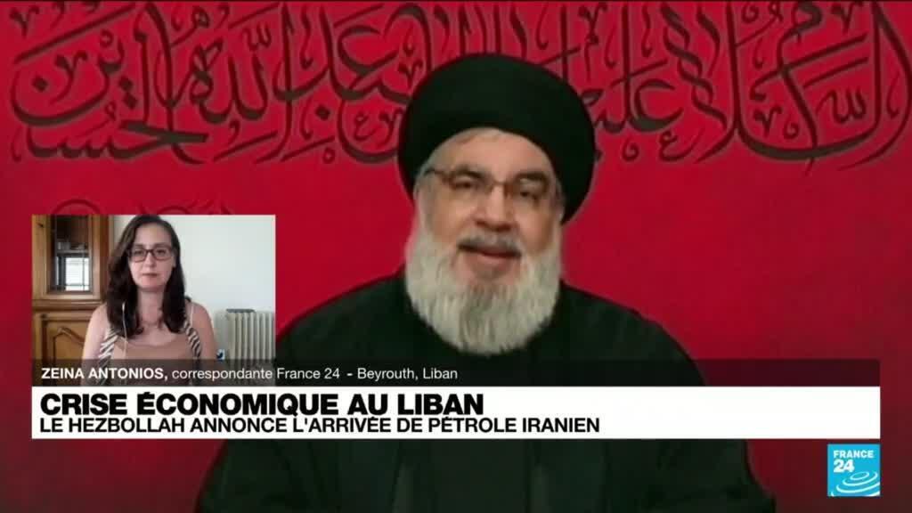 2021-08-20 10:10 Un navire iranien chargé de carburant va appareiller en direction du Liban, annonce le Hezbollah
