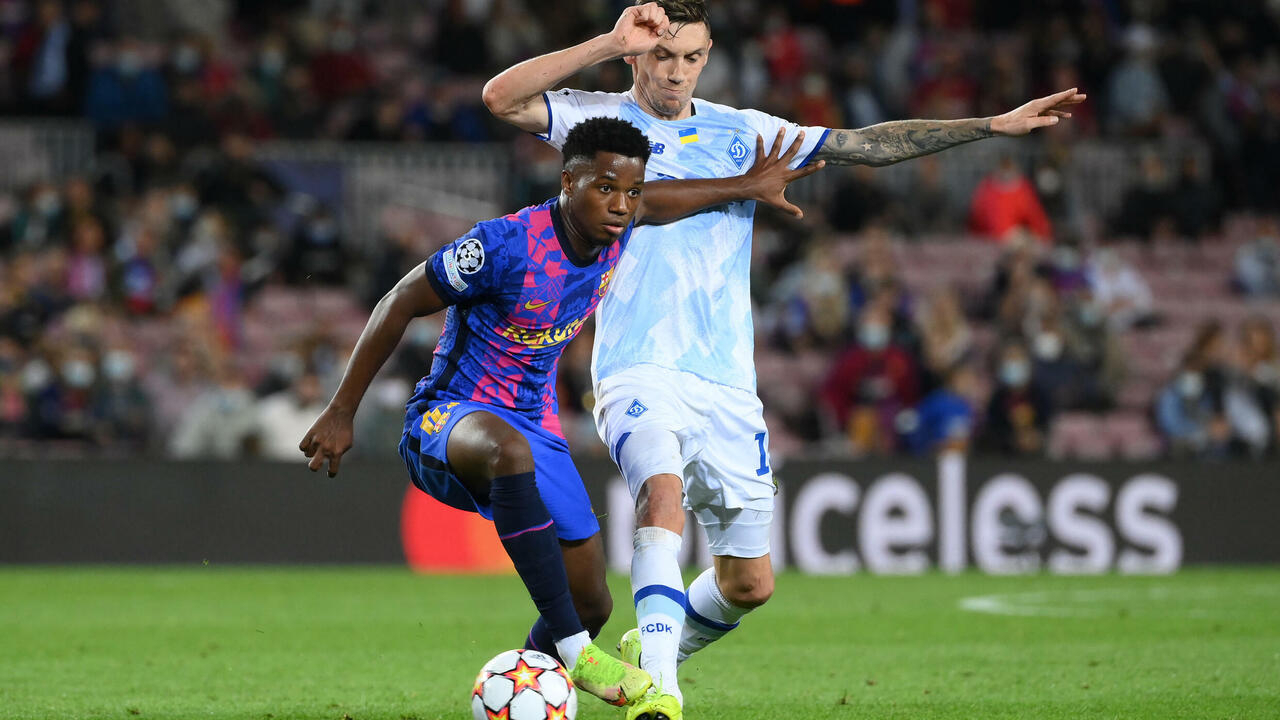 Fati agrees six-year Barcelona contract - FRANCE 24
