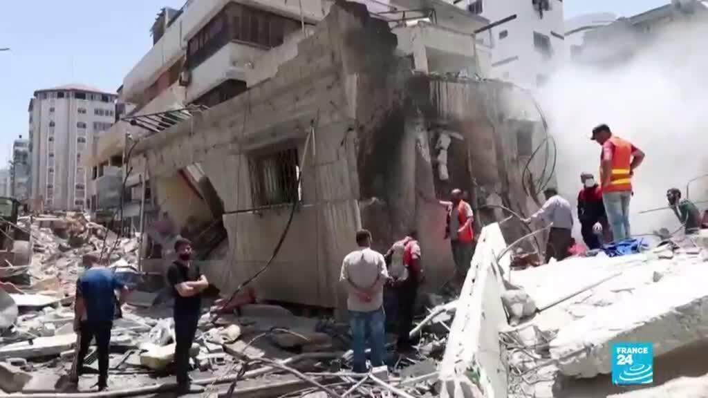 2021-05-28 01:03 Michelle Bachelet aseguró que su oficina había verificado la muerte de 270 palestinos en Gaza