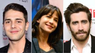 Le cinéaste Xavier Dolan, l'actrice française Sophie Marceau et l'acteur américain Jake Gyllenhaal.