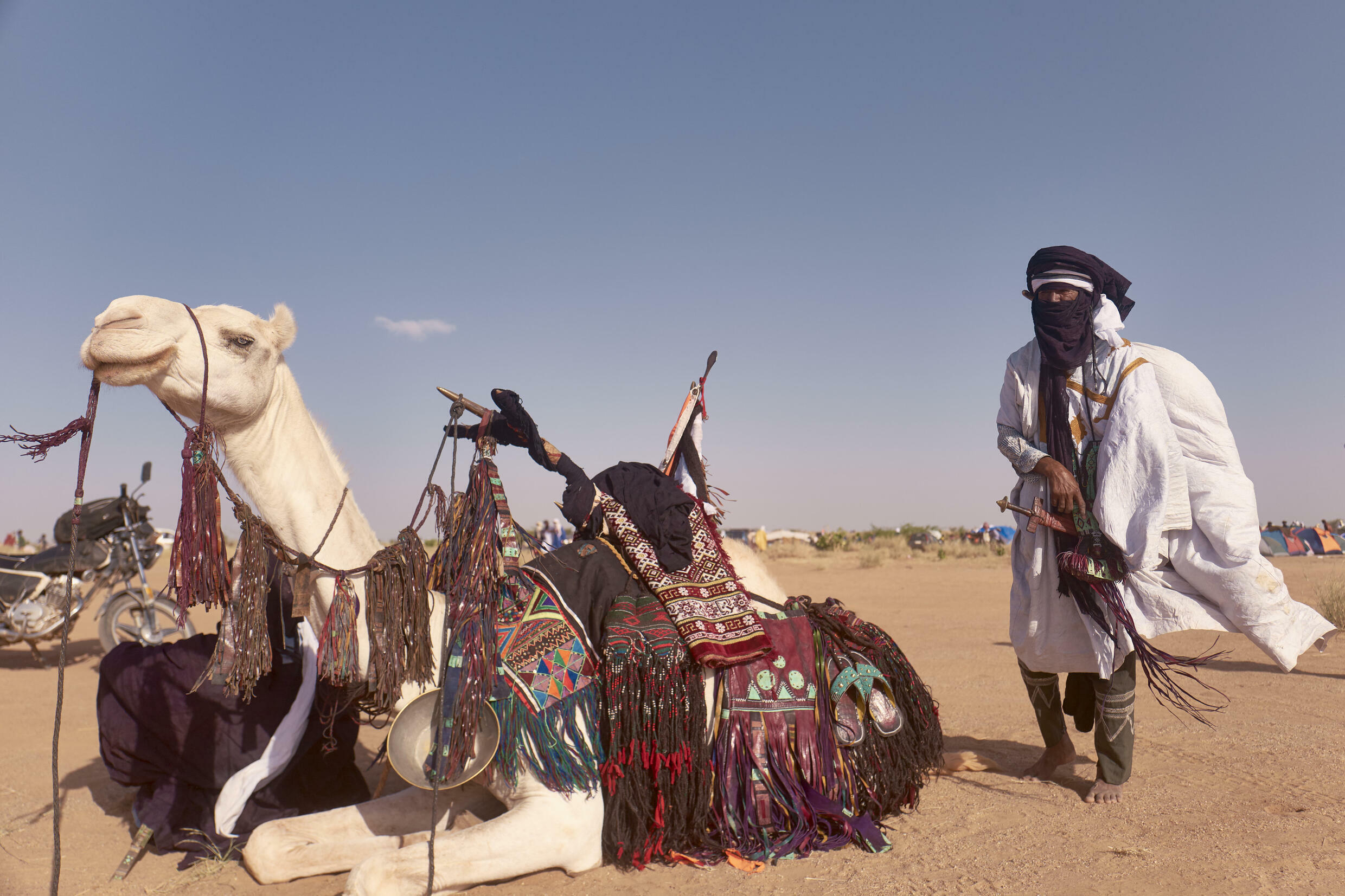 The festival is a celebration of nomadic culture