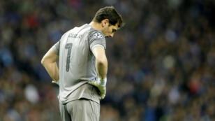 Iker Casillas durante el encuentro FC Oporto vs. Liverpool, cuartos de final de la Liga de Campeones, en el Estadio do Dragao, Oporto, Portugal, el 17 de abril de 2019.