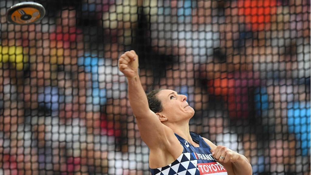 Mélina Robert-Michon est parvenue à améliore sa meilleure performance de l'année pour décrocher le bronze.