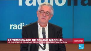 Le chercheur français Roland Marchal, détenu neuf mois en Iran, interrogé par RFI et Radio France le 7 avril 2020.