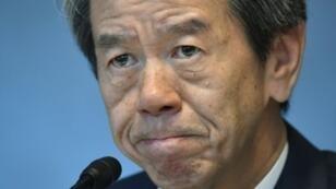 Hisao Tanaka, le PDG de Toshiba, a présenté sa démission mardi 21 juillet.